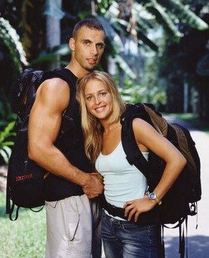 John Vito Pietanza and Jill Aquilino (The Amazing Race 3)