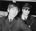 John and George 💖 - the-beatles photo