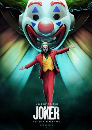 Joker Alternative Poster - Created kwa Salny Setyadi