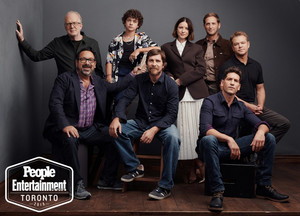Jon Bernthal and the Ford v. Ferrari Crew - TIFF Portrait da Entertainment Weekly - 2019