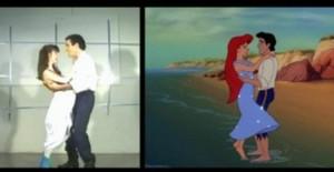 Joshua Finkel (Eric) dances with Shrri Lynn Stoner  (Ariel)
