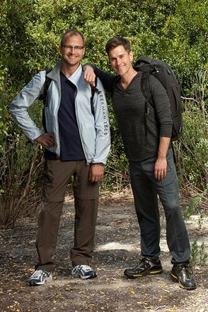 "Joshua ""Josh"" Kilmer-Purcell and Brent Ridge (The Amazing Race 21)"