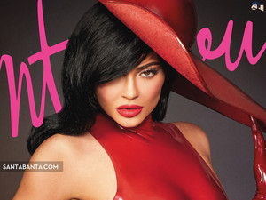 KYLIE JENNER LADY IN RED