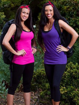 Kaylani Pallotta and Lisa Tilley (The Amazing Race 19)