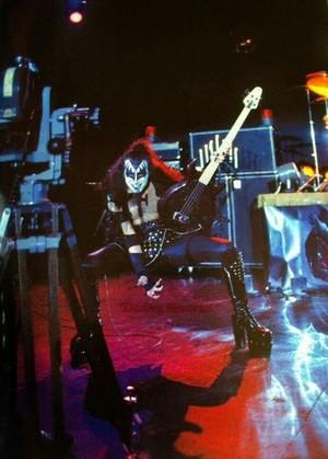 키스 Alive! 사진 shoot (1975)