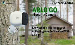Know What Is The Process Of Activating Arlo Go Sim Card With AT & T?