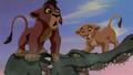 Kovu And Kiara - the-lion-king-2-simbas-pride wallpaper