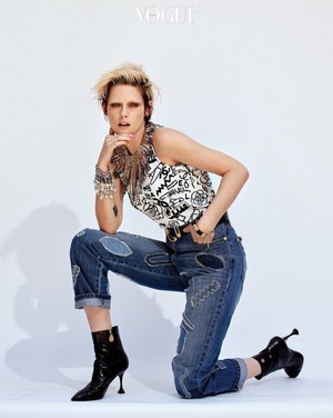 Kristen Vogue Korea photo shoot July 2019 issue