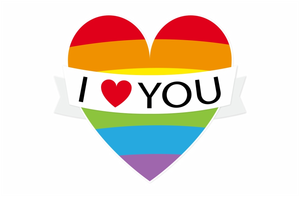 LGBT herz