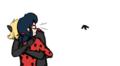 Ladybug and Chat Noir - miraculous-ladybug fan art