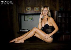 Laura in Maxim (March 2014)