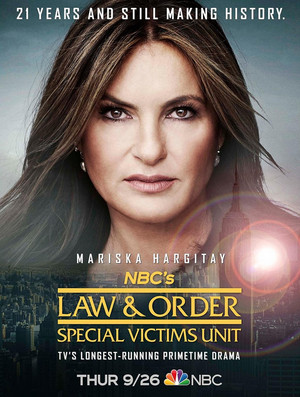 Law and Order: SVU - Season 21 Poster - 21 years and still making history.