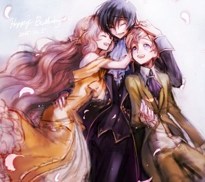 Lelouch Lamperouge, Nunnally Lamperouge, Rolo Lamperouge,