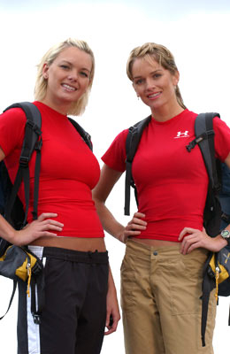 Lena and Kristy Jensen (The Amazing Race 6)