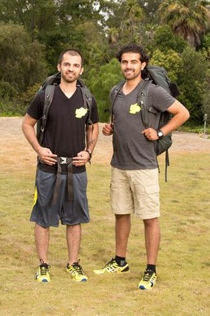 Leo Temory and Jamal Zadran (The Amazing Race 23)
