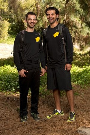 Leo Temory and Jamal Zadran (The Amazing Race: All-Stars 2014)
