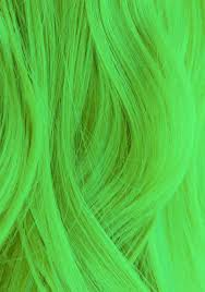 Light Green Haircolor