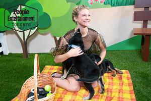 Lili Reinhart ~ Rescue Puppy Photoshoot ~ EW @ TIFF