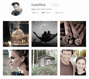 Logan x Rogue Instagram Aesthetic
