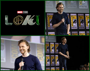 Loki (Tom Hiddleston) -2019 Marvel Comic Con