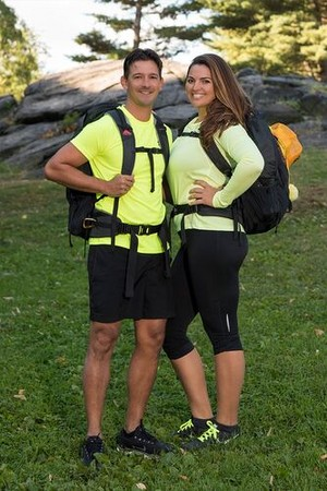 Lucas Bocanegra and Brittany Austin (The Amazing Race 30)