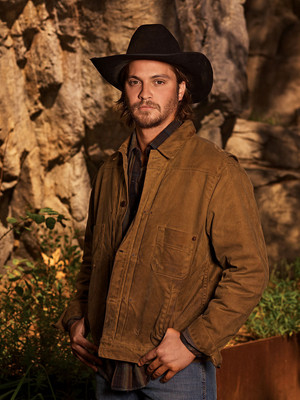 Luke Grimes - Cowboys and Indians Photoshoot - 2019