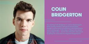 Luke Newton cast as Colin Bridgerton