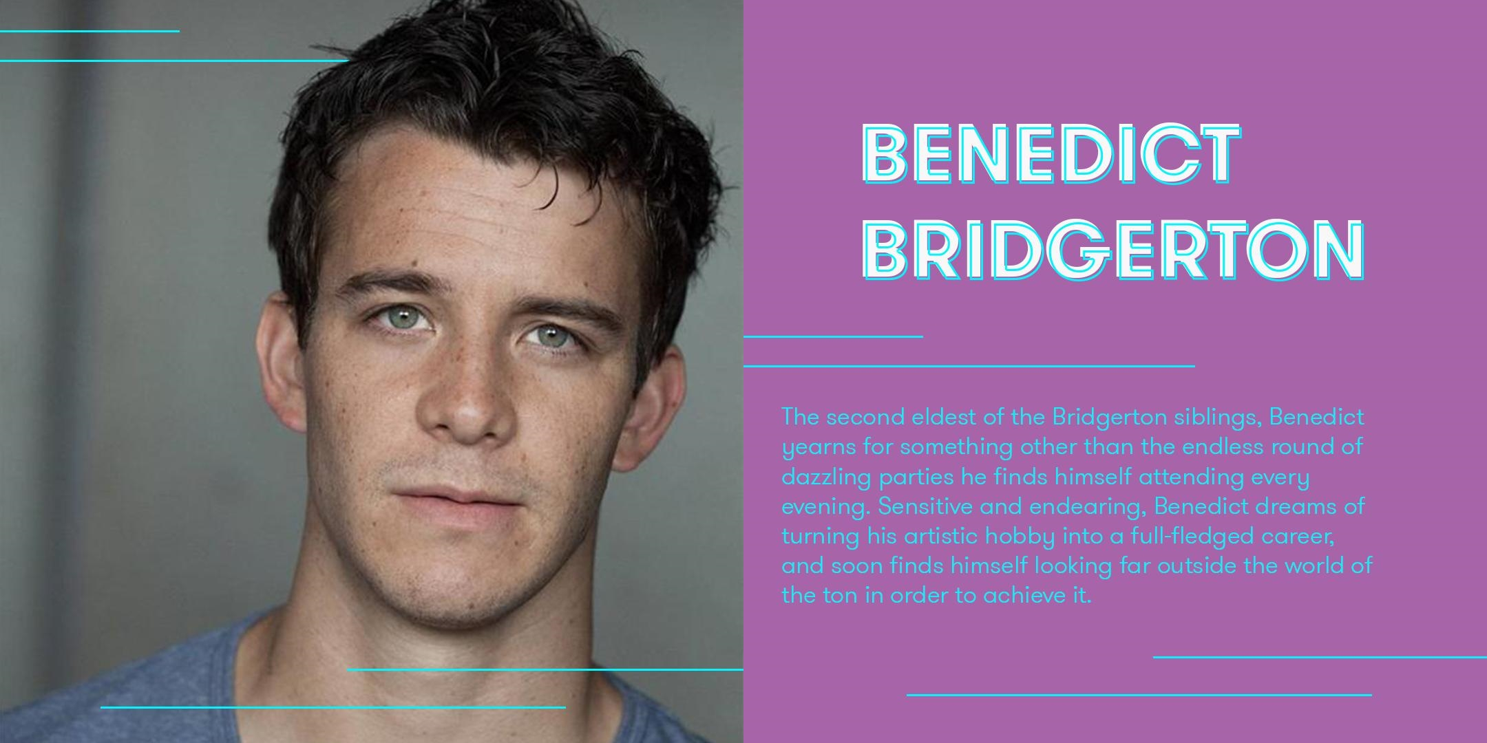 Luke Thompson cast as Benedict Bridgerton - Bridgerton