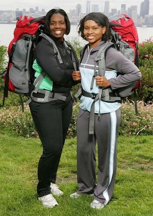 "Lynette ""Lyn"" Turk and Karlyn Harris (The Amazing Race 10)"