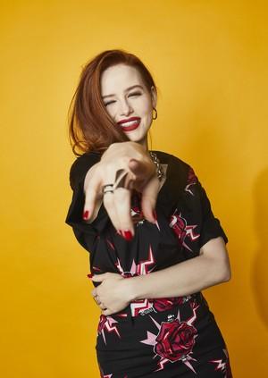 Madelaine Petsch ~ Elle Magazine Comic Con Portrait