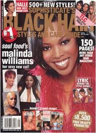 Malinda Williams On The Cover Of Black Hair