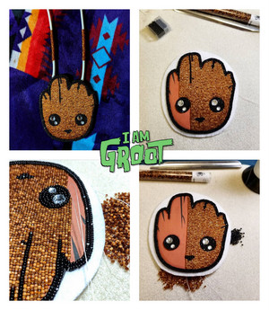 Manidoominensikaan ((Bead work)) Groot ✌️😁