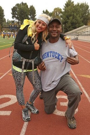 Mark Jackson and Mallory Ervin (The Amazing Race: All-Stars 2014)
