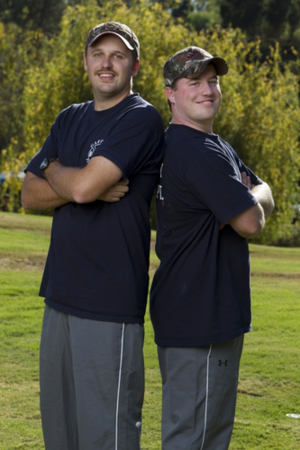 "Matthew ""Matt"" Davis and Daniel Moss (The Amazing Race 22)"