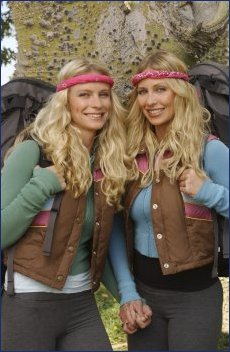 Megan Baker and Heidi Heidel (The Amazing Race 7)