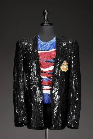 Michael's Iconic Stage Costume