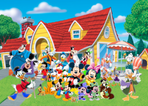 Mickey and his Family and His Friends Forever