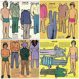 Monkees Paperdolls