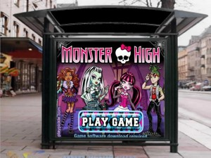Monster High the Game on the Billboard