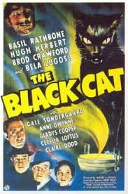 Movie Poster 1934 Horror Film, Black Cat