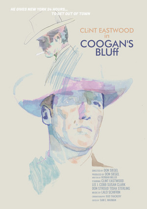 Movie poster for Coogan's Bluff (1968)