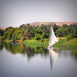 NILE RIVER IN EGYPT PEACE