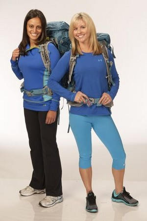 "Nareman ""Nary"" Ebeid and Jamie Graetz (The Amazing Race 20)"