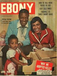 """Nat """"King"""" Cole And Hid Family On The Cover Of Ebony"""