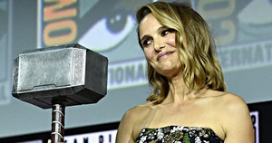 Natalie at Comic Con 2019,who will play female Thor in pag-ibig and Thunder