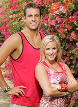Nathan Hagstrom and Jennifer Parker (The Amazing Race 12)