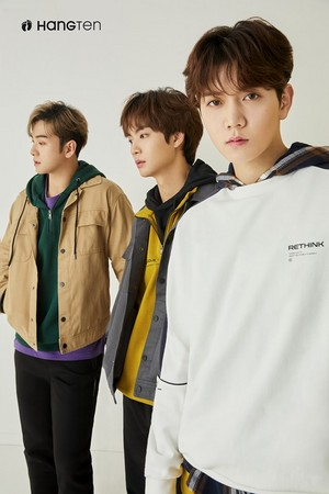Nu'est for Hang Ten Korea