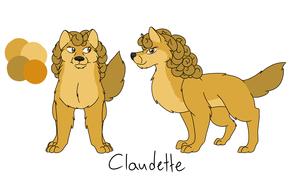 Older Claudette - Character Ref