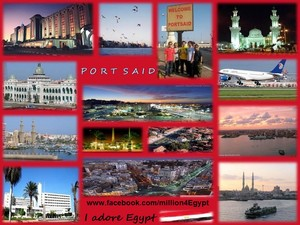 PORT SAID IN EGYPT
