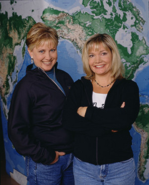 "Patricia ""Pat"" Pierce and Brenda Mehta (The Amazing Race 1)"